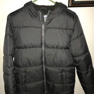 Old navy puffy jacket boys size xl 14-16